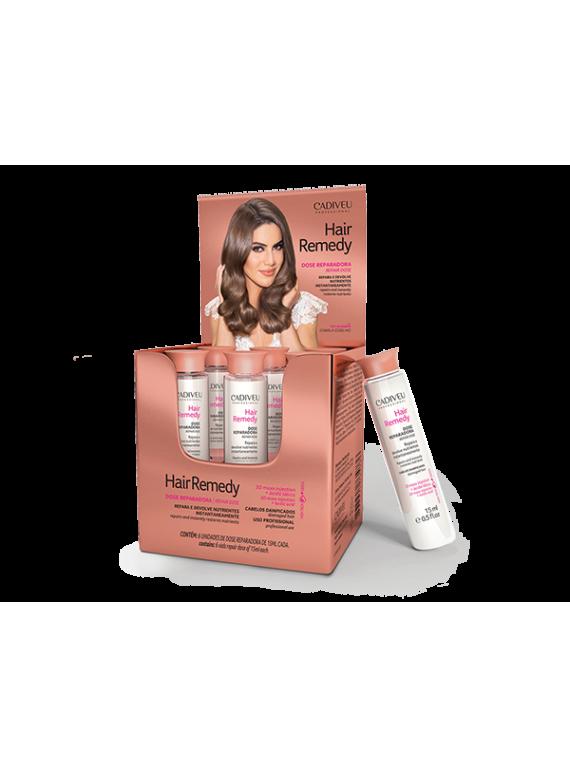 Восстанавливающий концентрат Hair Remedy Prof Vial 6х15 ml