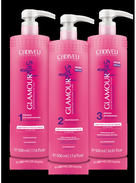 Набор для проведения процедуры Цистеирования Glamour Plus 500 ml